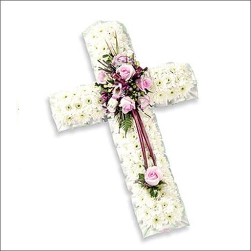 Ribboned cross