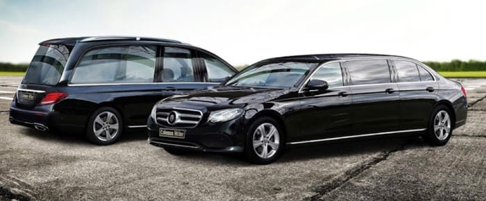 E-class Mercedes-Benz Hearse & Limousine