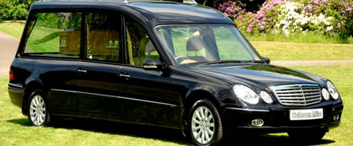 Funeral vehicles fosters funeral directors for Used mercedes benz hearse for sale