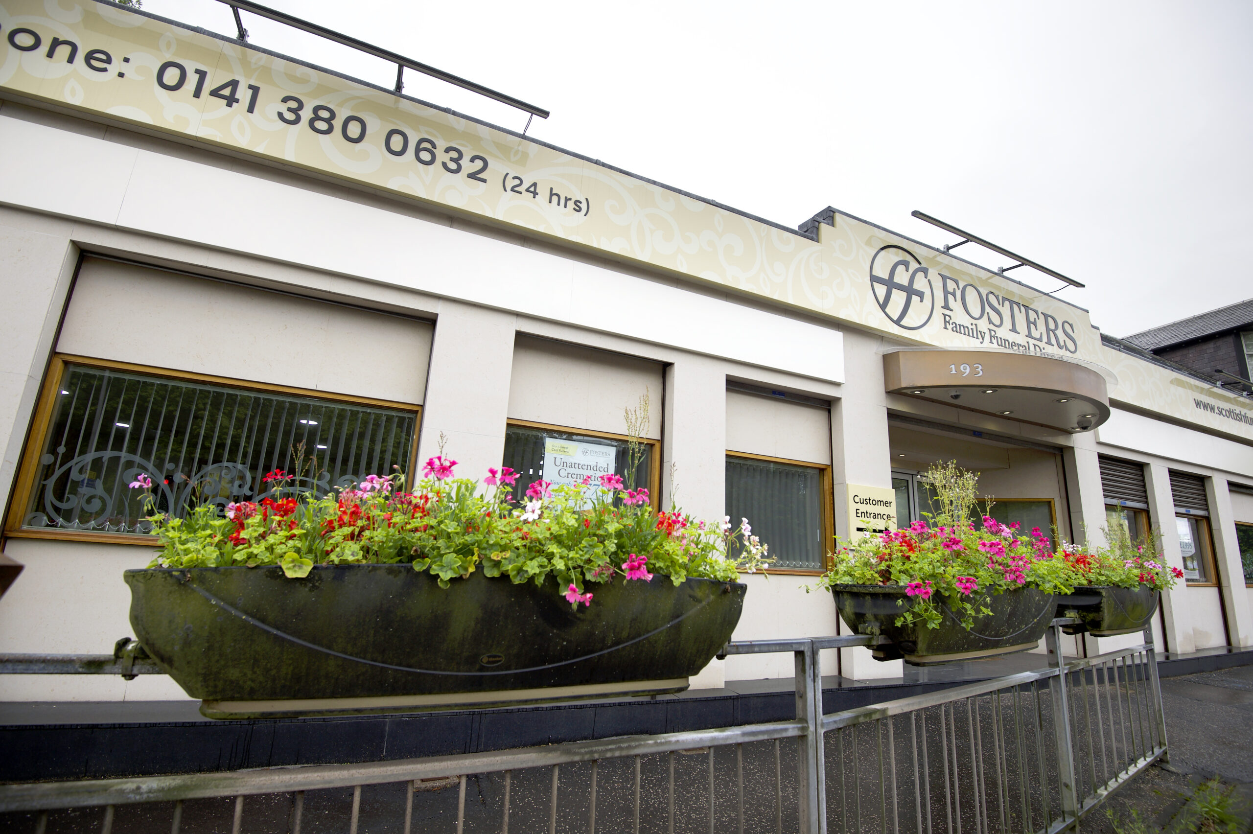 Fosters funeral directors Newton Mearns