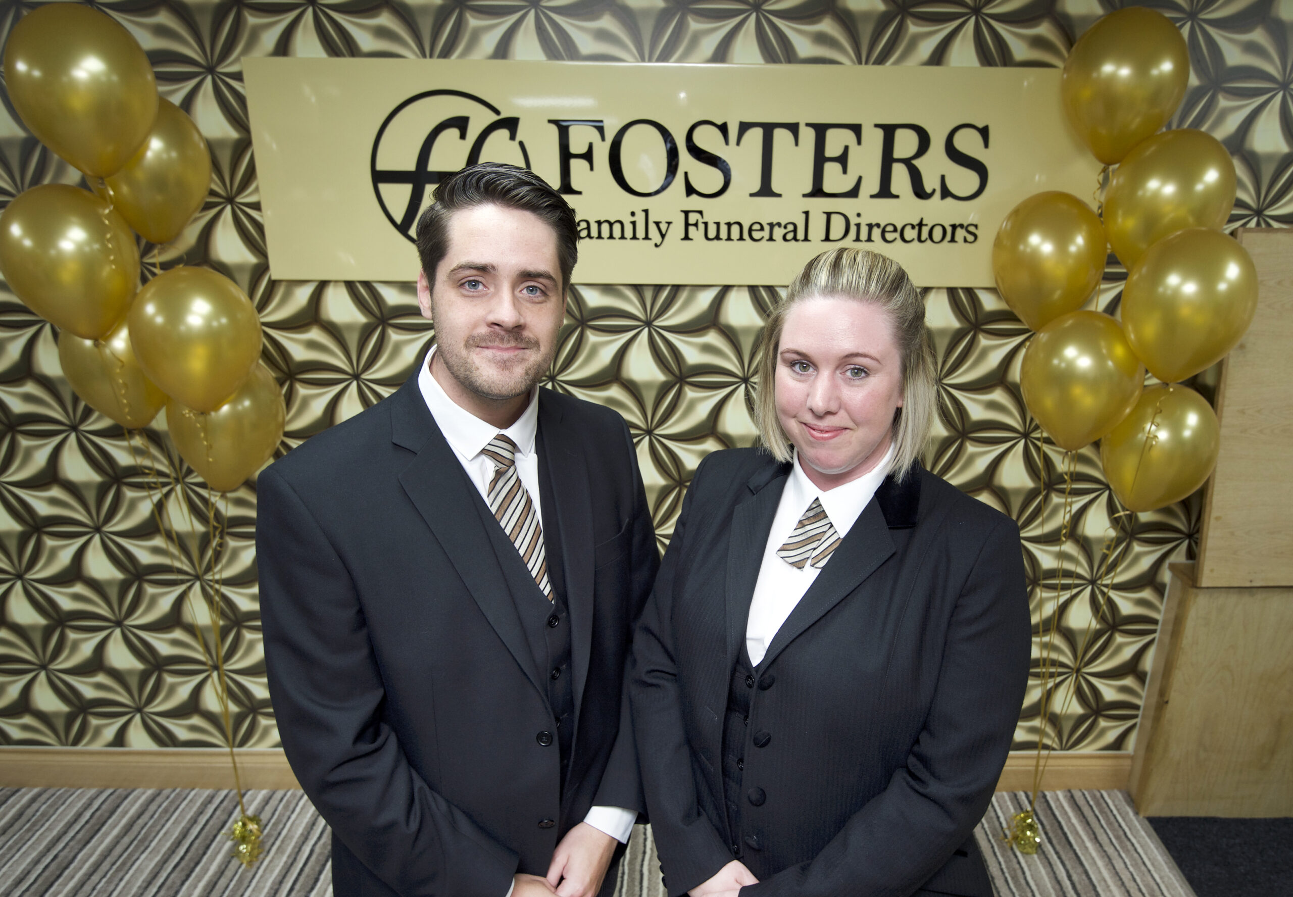 Martin and Lorna in Newton Mearns Fosters Funeral Directors