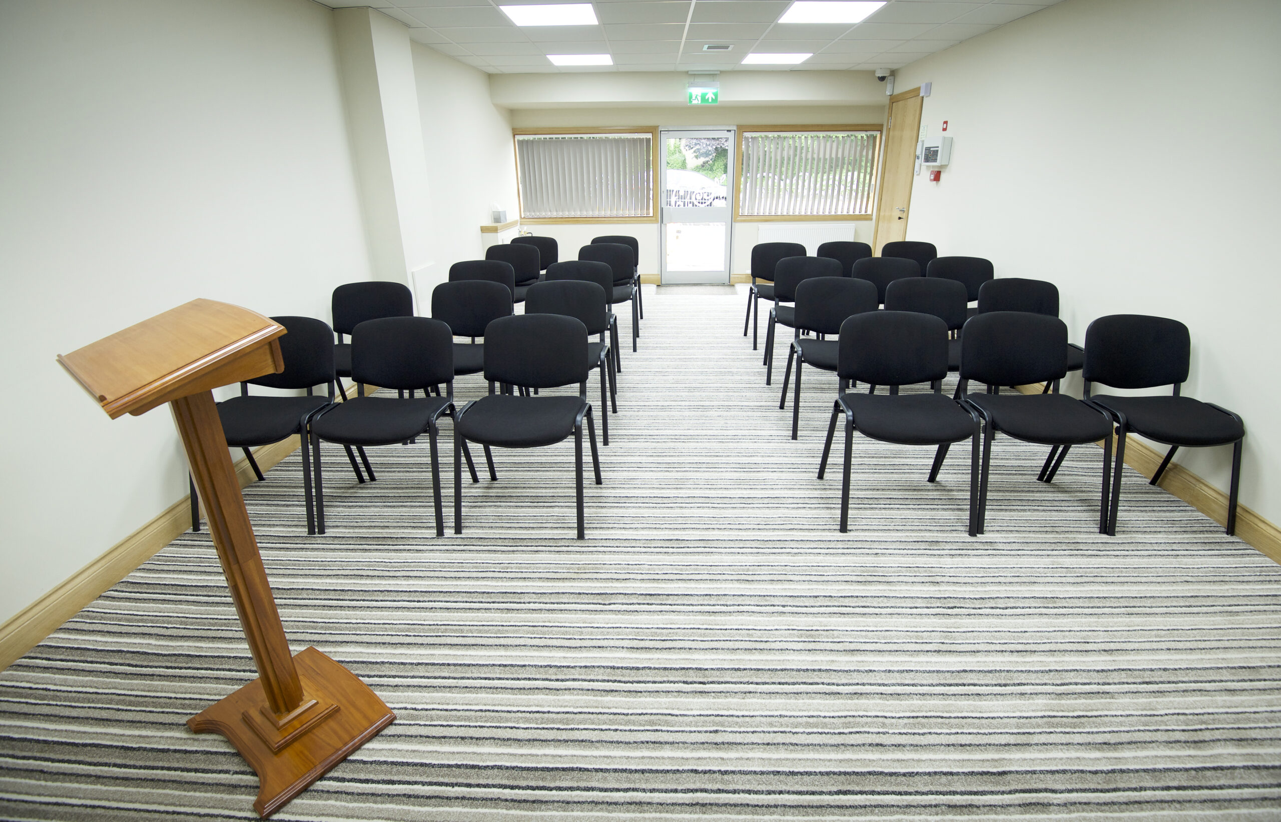 Service room in Newton Mearns funeral home