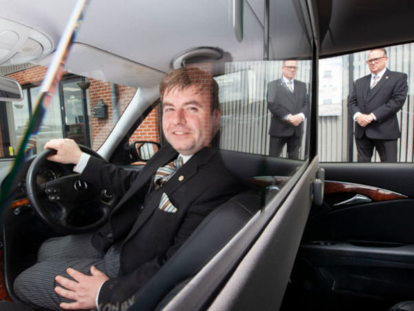Fosters install protective screens in limousines for safe travel during covid