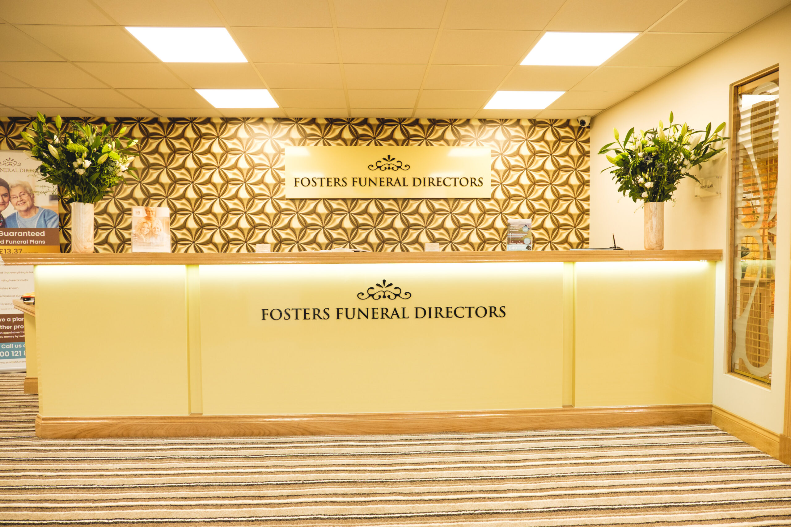 Greenock funeral directors reception