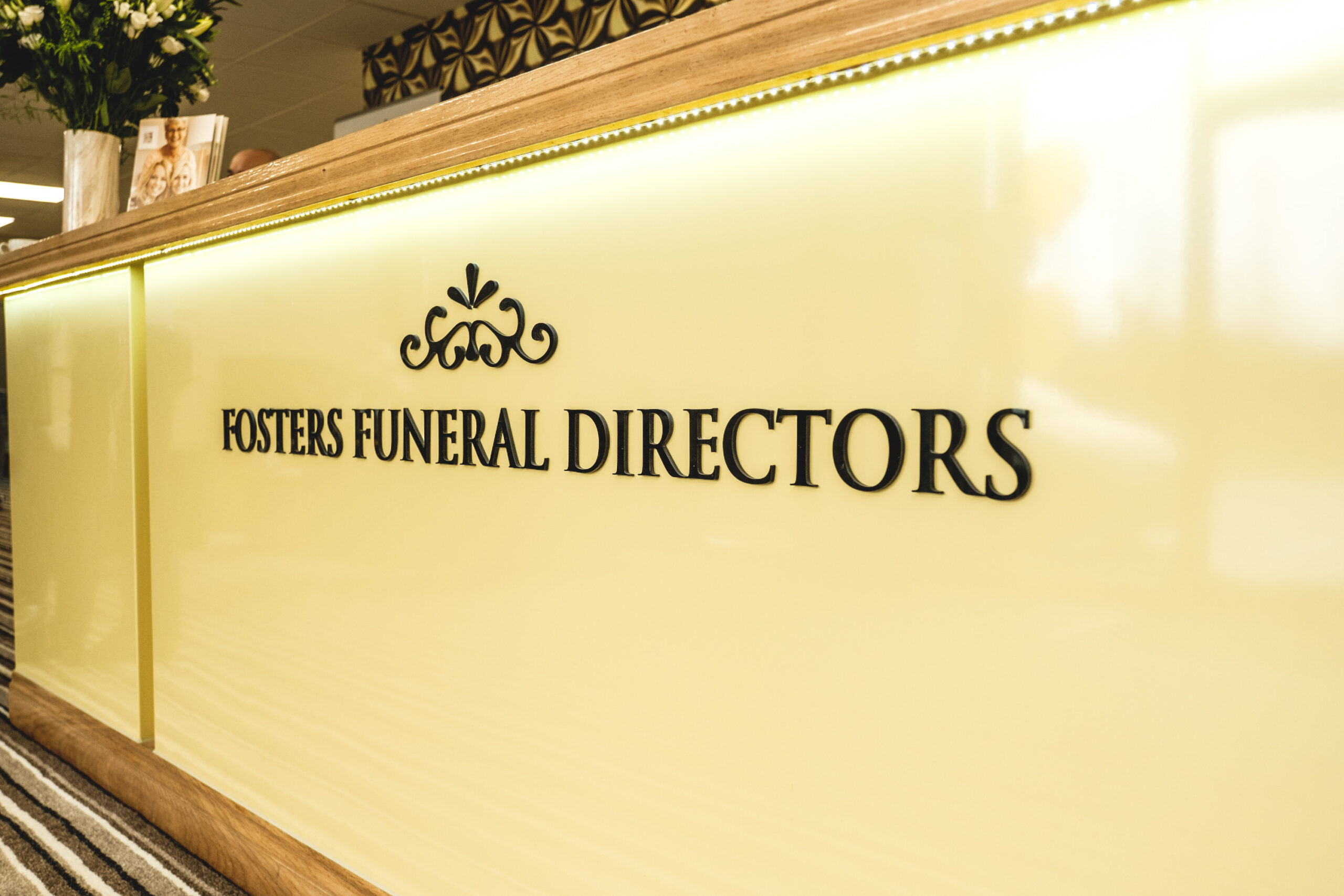 Greenock funeral home reception