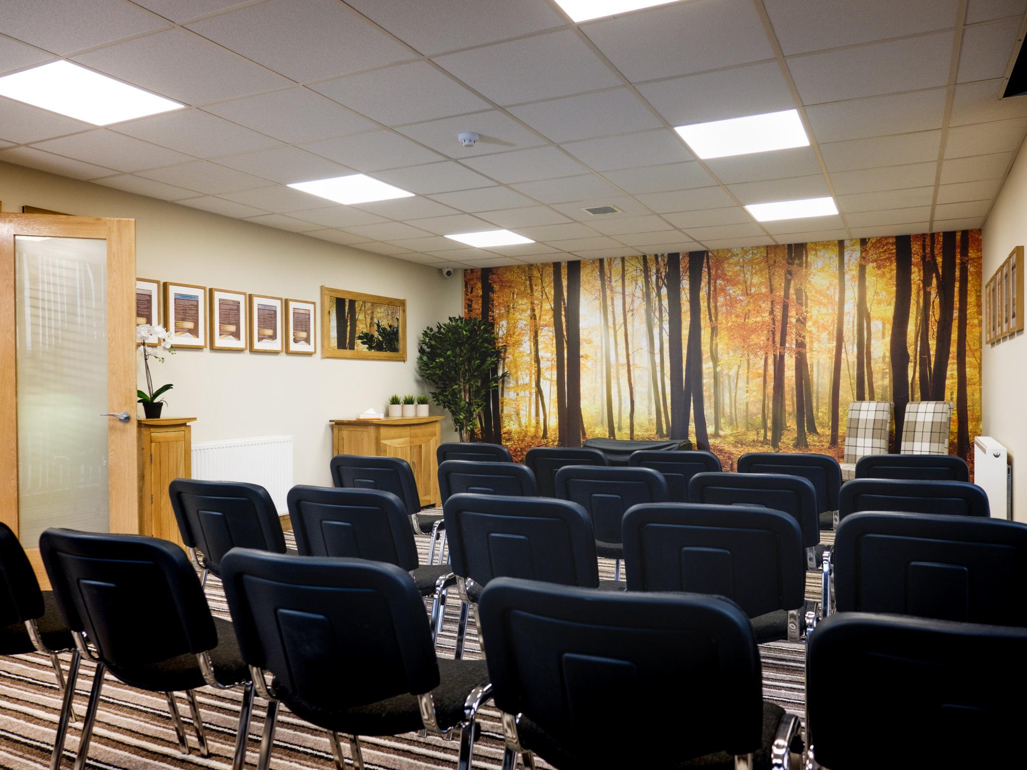 Parlour service room