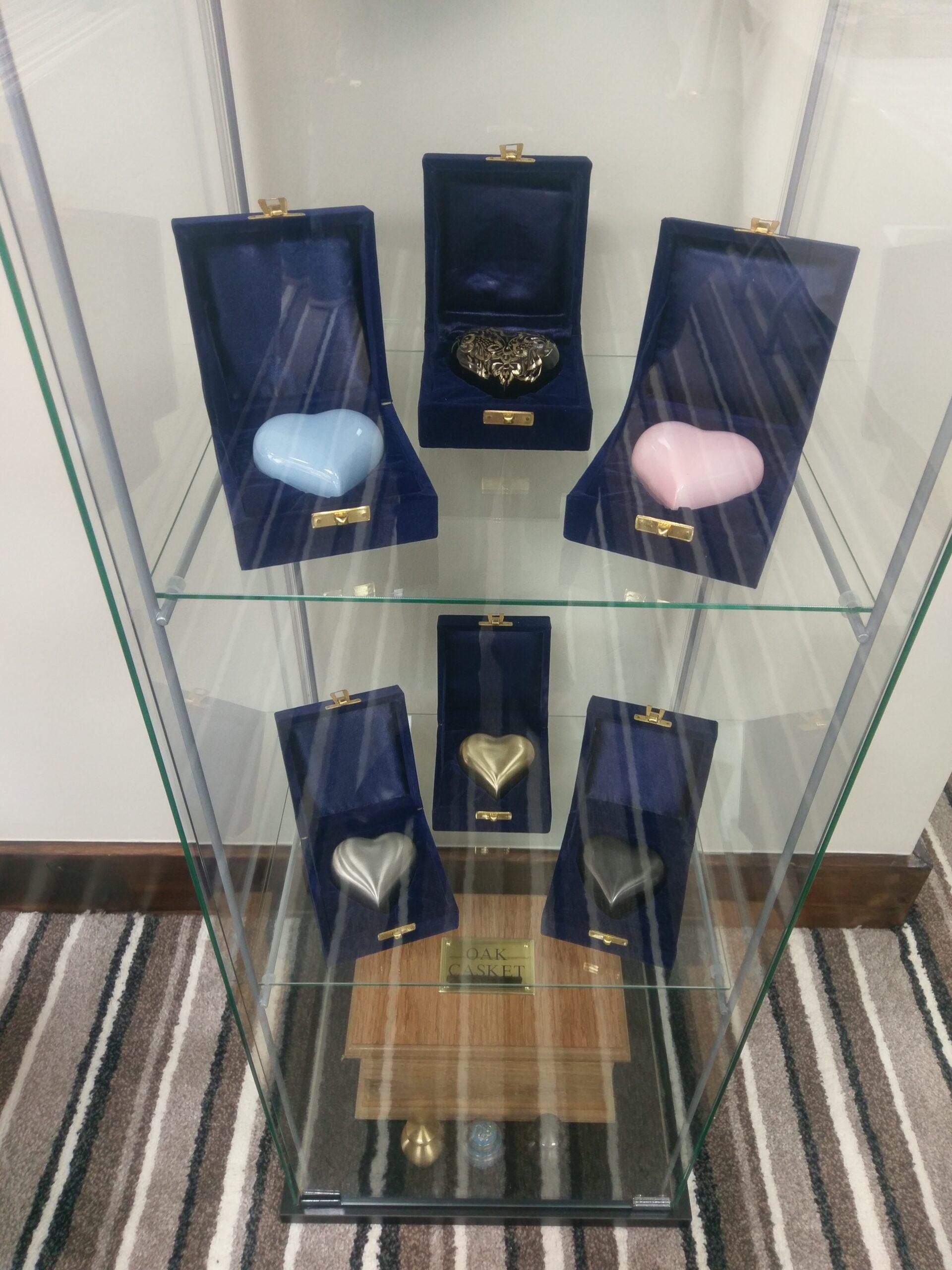 Funeral memorial jewellery