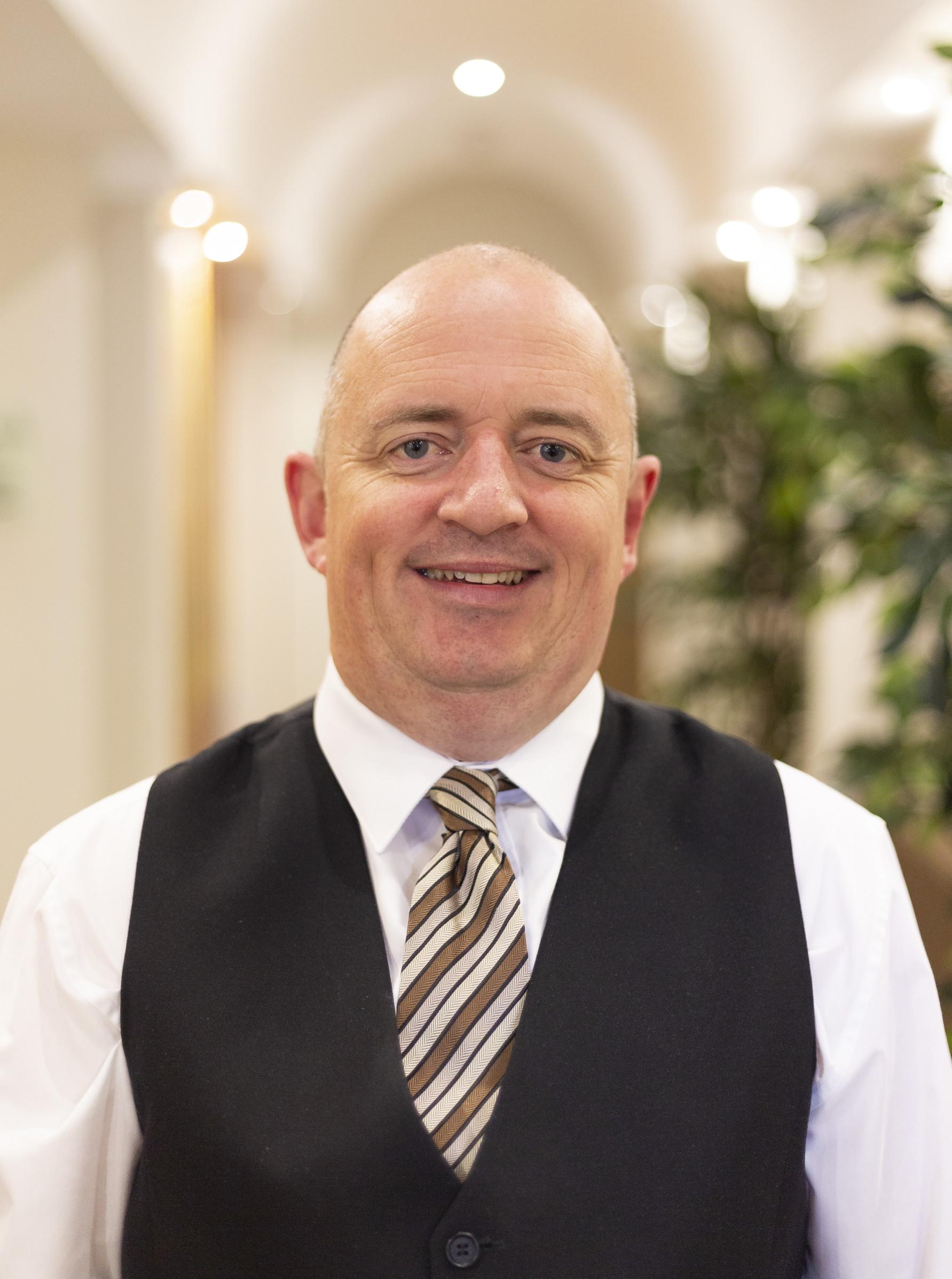 Meet John - funeral arranger