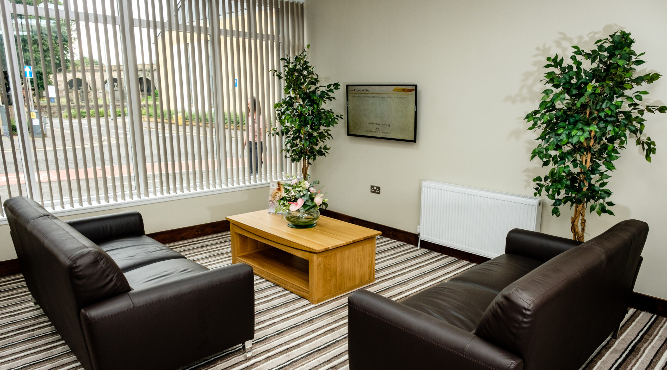 Kilmarnock reception area