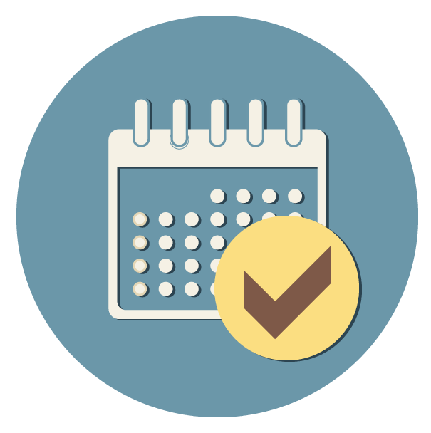 Fixed monthly payments icon - Funeral Plans