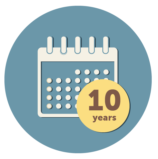10 year payment plan icon - Funeral Plans