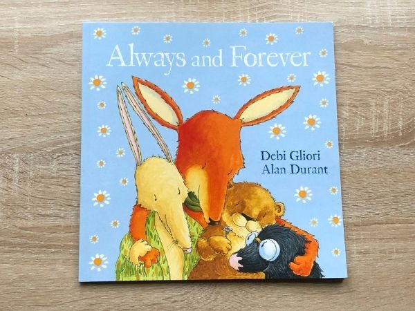 A children's book about bereavement entitled Always and Forever