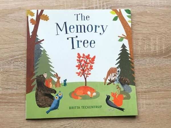 The Memory Tree - a children's book about bereavement