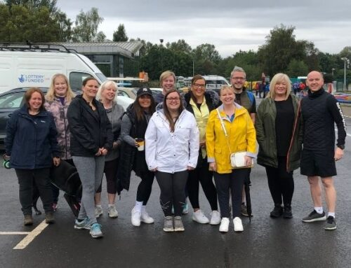 Fosters Team raise over £2,500 on Memory Walk for Alzheimer Scotland
